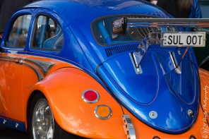 This is one fast suped up VW beetle, this bug sounded awesome