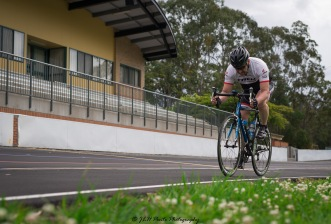 Cyclist Roland at Nerang Velodrome