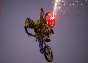 Bikes&Bulls fly high rocket bike