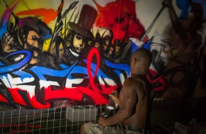 Banga Graffiti Artist from Paris (2)